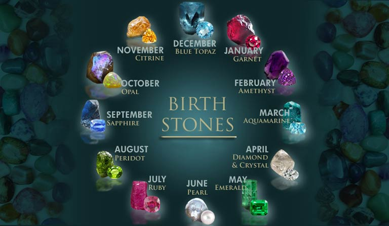 May Birthstone and Flower