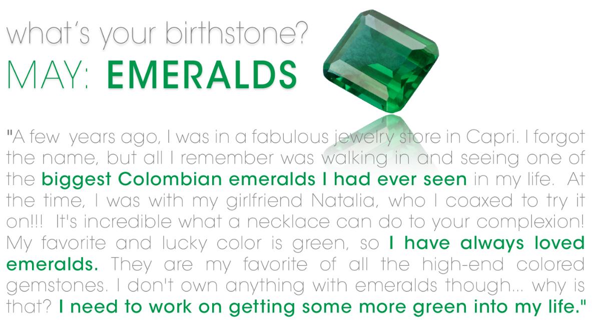 May Birthstone