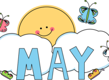 May Clip Art Images