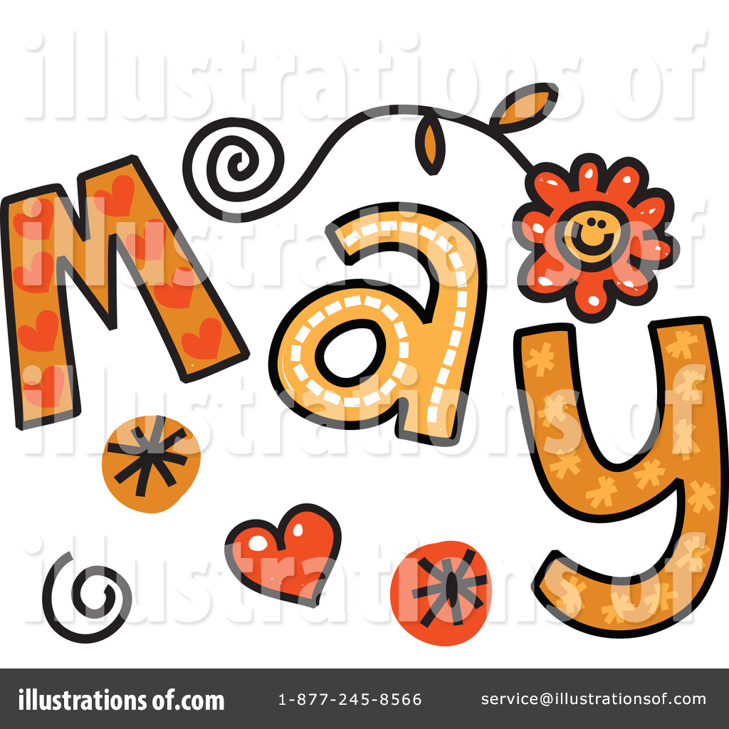 May Clipart Animated