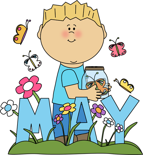 May Clipart for Preschoolers
