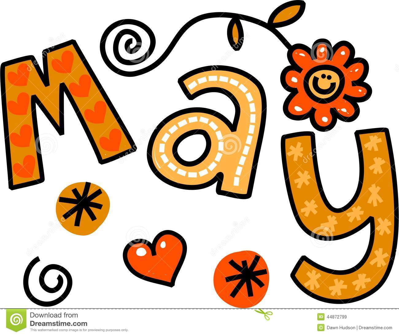 May Month Clipart Images