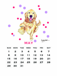 May Wallpaper Calendar for Facebook