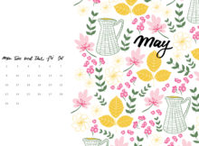 May Wallpaper Calendar for Laptop