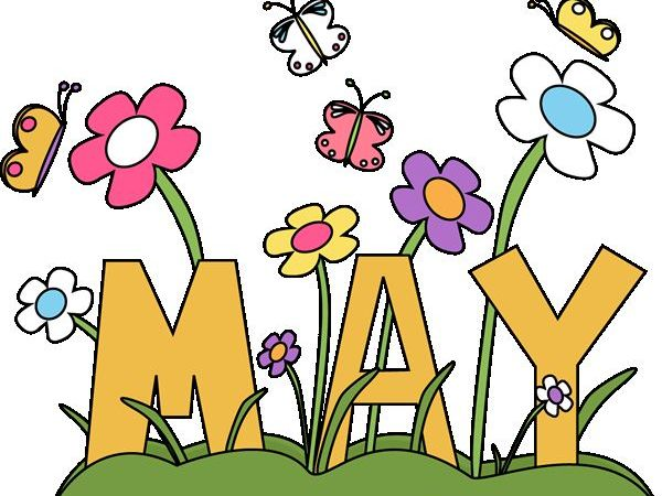 Month of May Flower Clipart