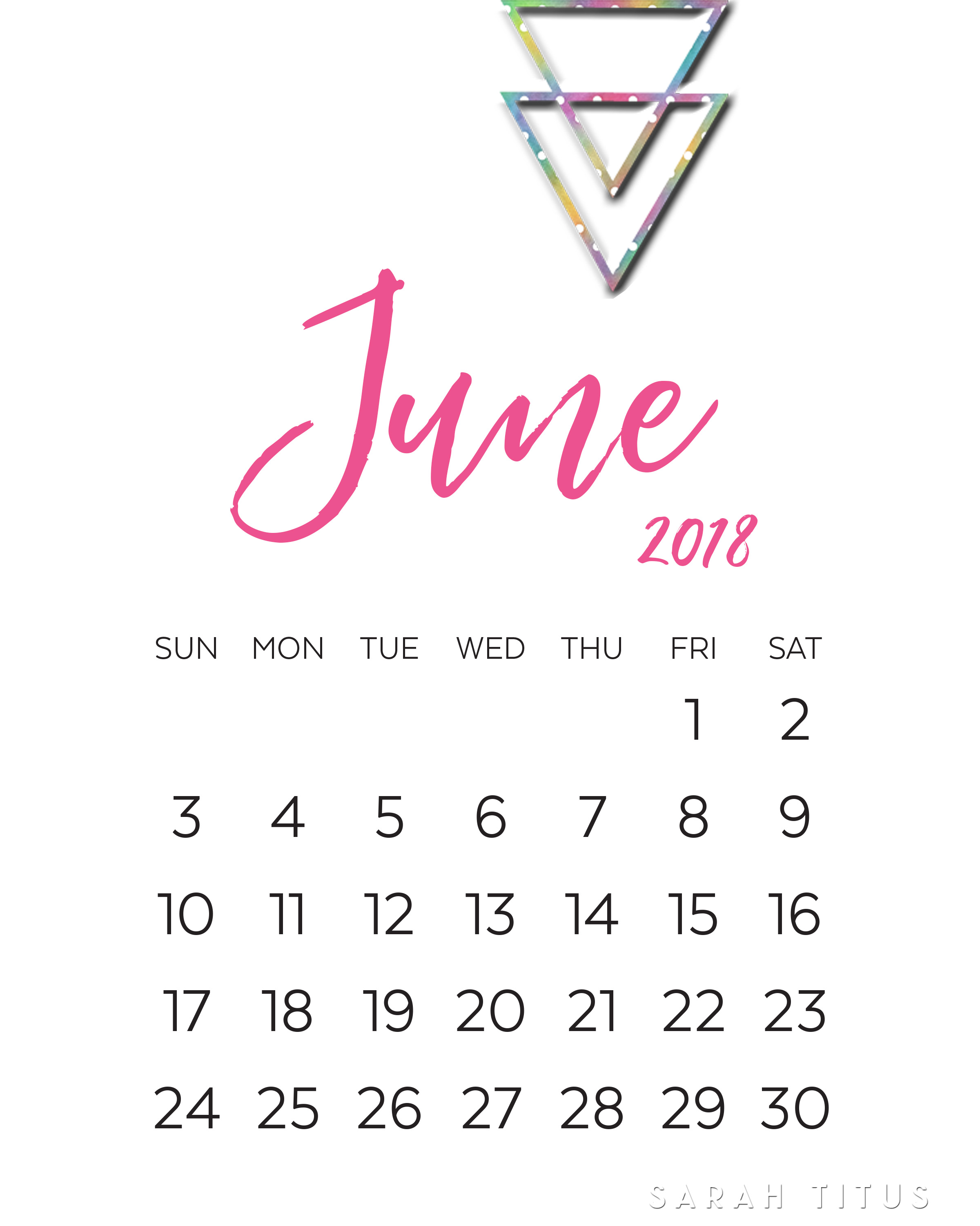 Printable June 2018 Calendar For Kindergarten Classroom