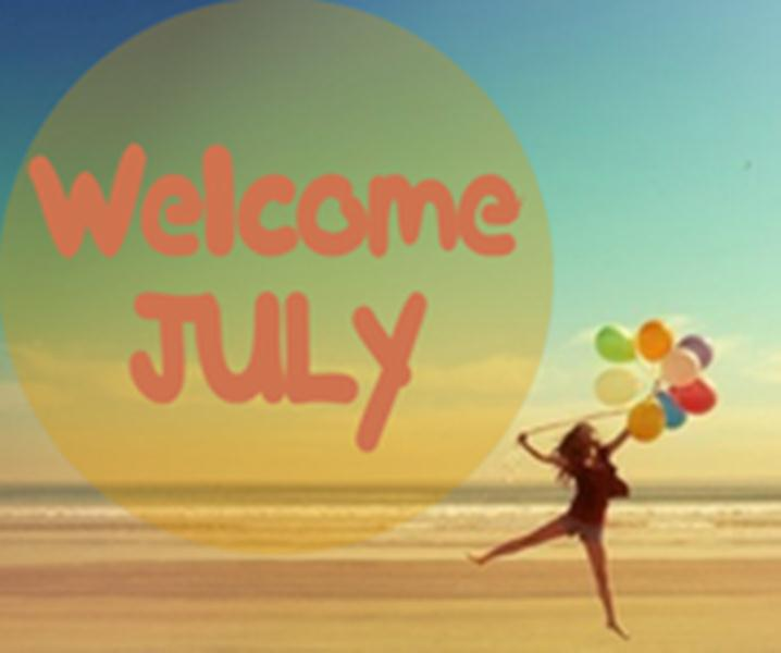Welcome July Month