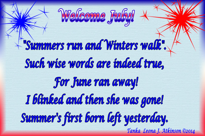 Welcome July Quotes & Messages