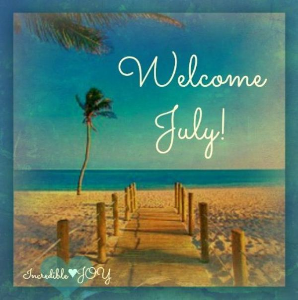 Welcome July Tumblr