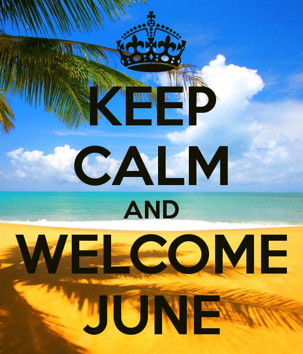Welcome June 2018. Images