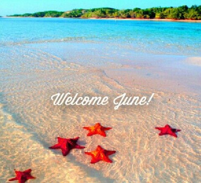 Welcome June 2018