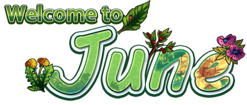 Welcome June Clip Art