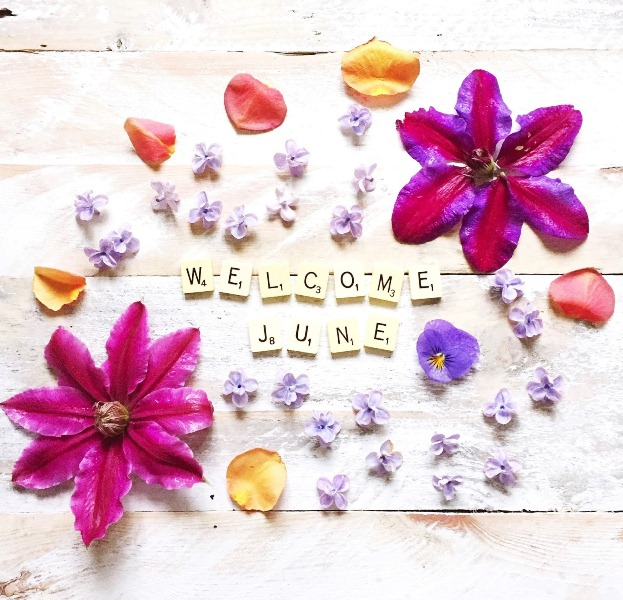Welcome June Month Flower Images