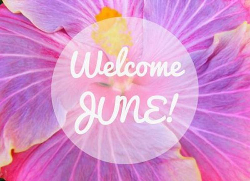 Welcome June Wallpaper Hd