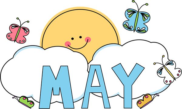 Welcome May Clipart