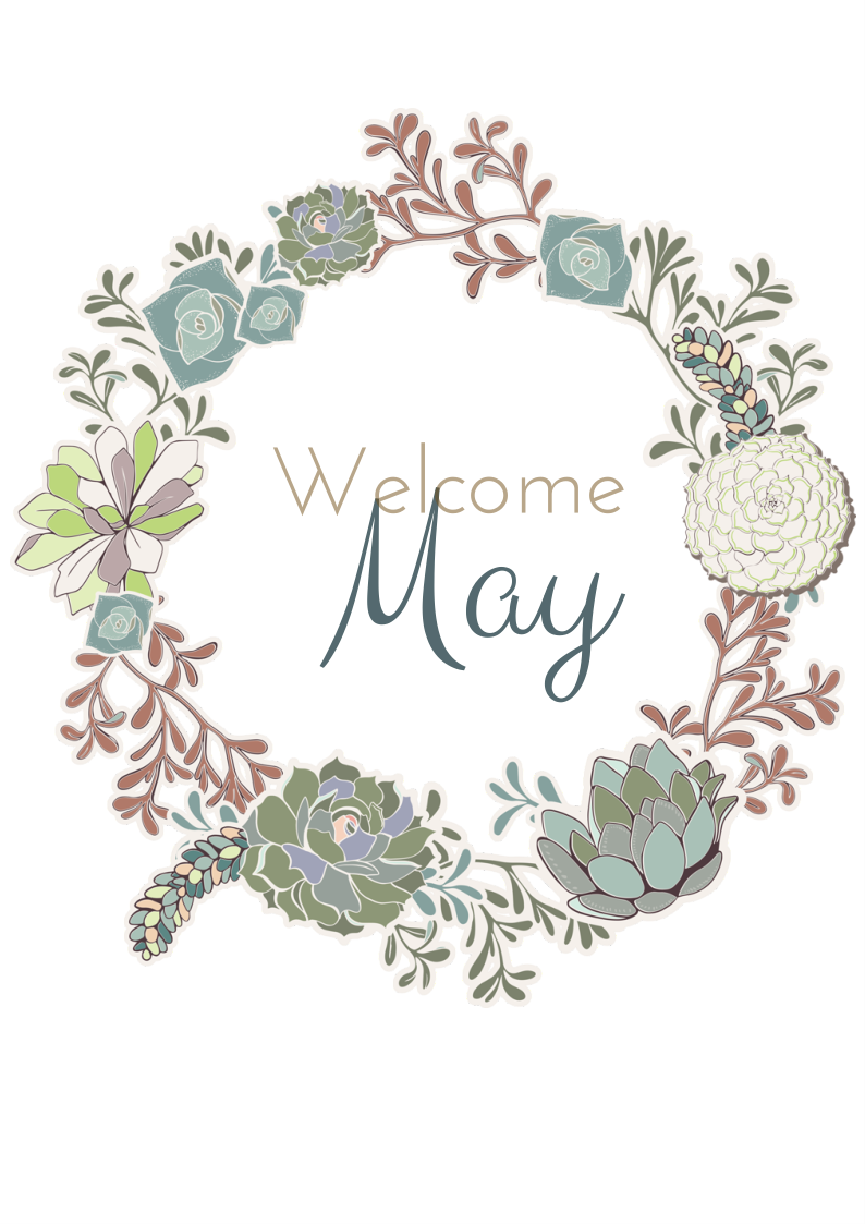Welcome May Quotes Pretty Design