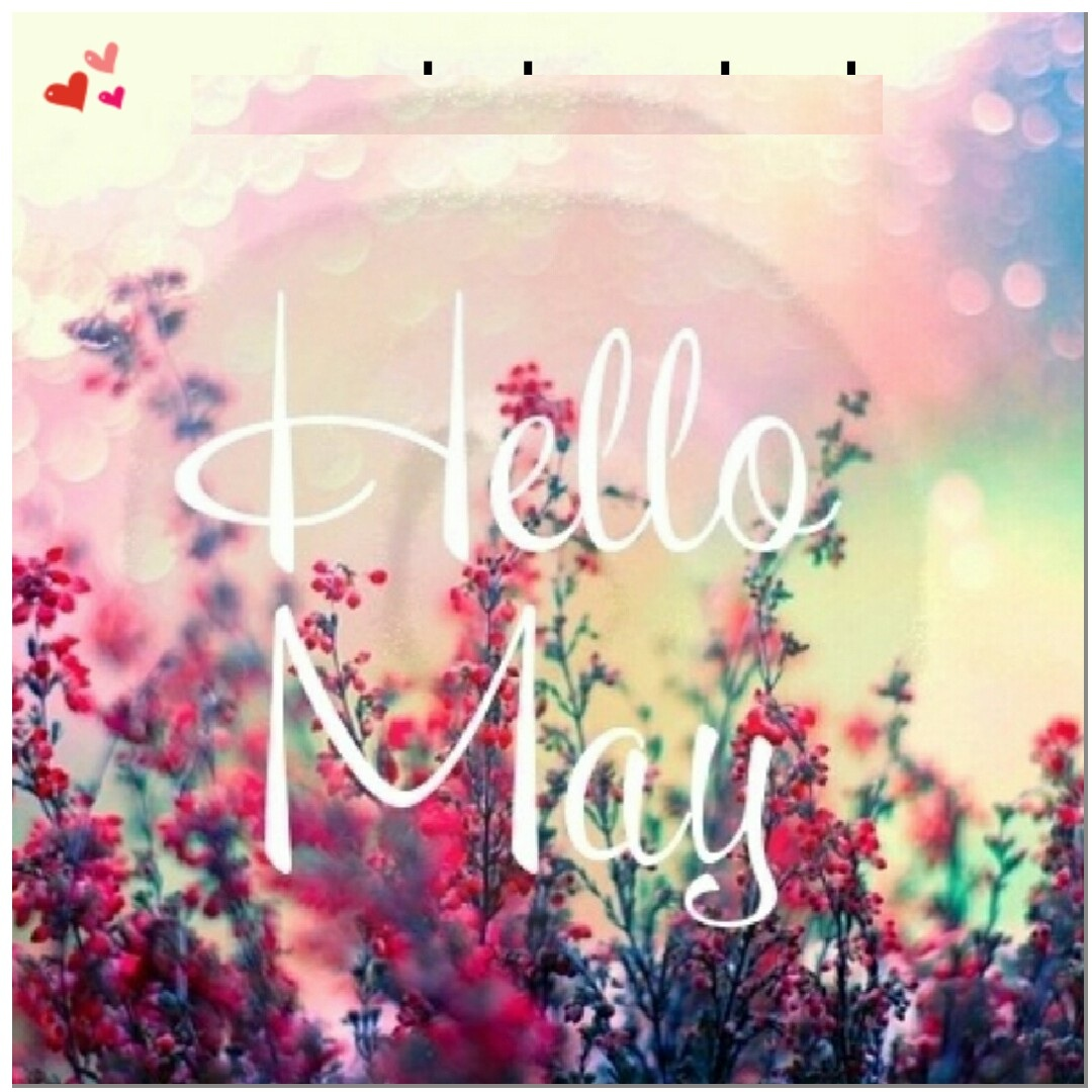 Welcome May Quotes Wishes Floral
