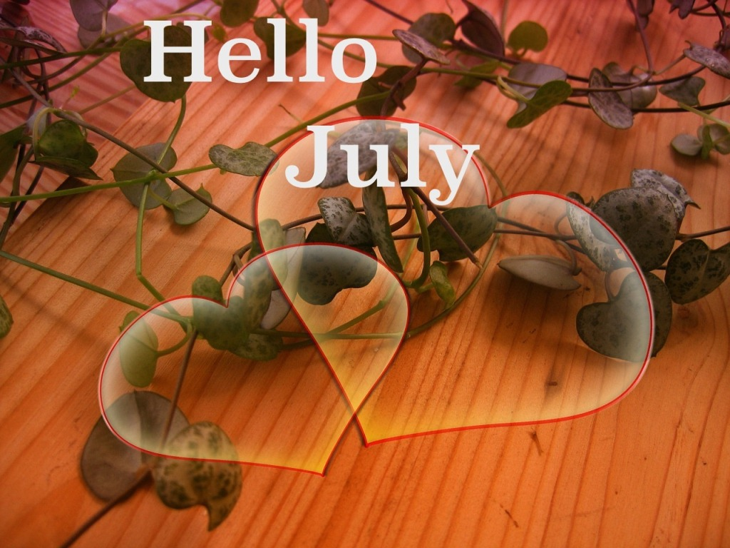 Welcome New Month July