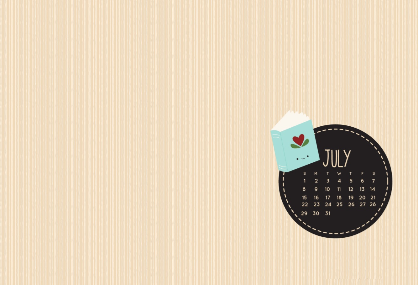 15+ July 2018 Calendar Wallpapers