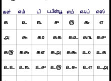 2018 July Printable Calendar Tamil