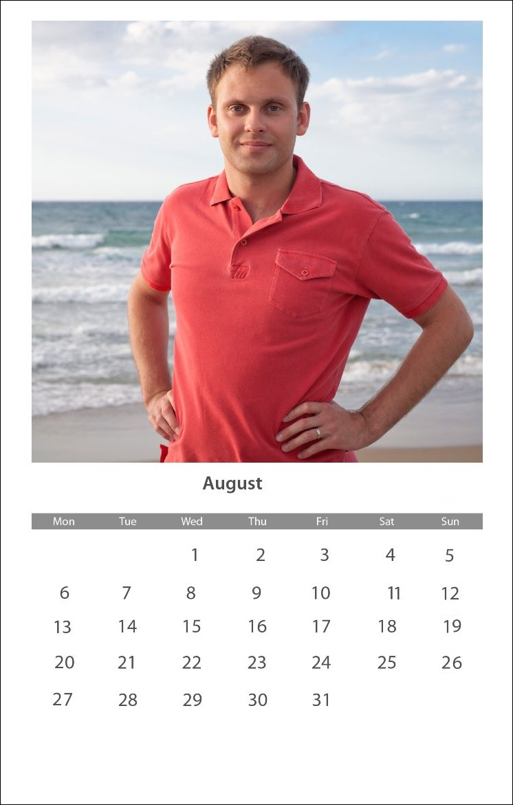 Best August 2018 Personalized Calendar
