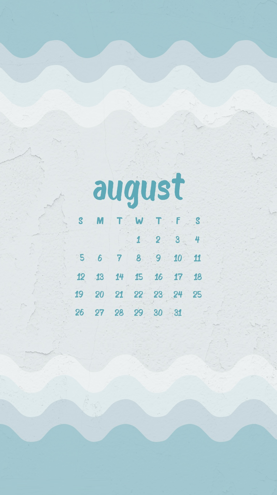 Best August 2018 iPhone Calendar Wallpapers