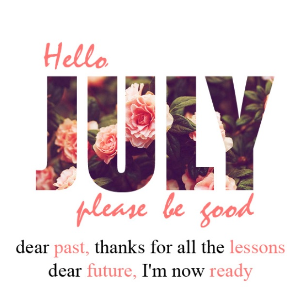 Best Hello July Quotes Pictures