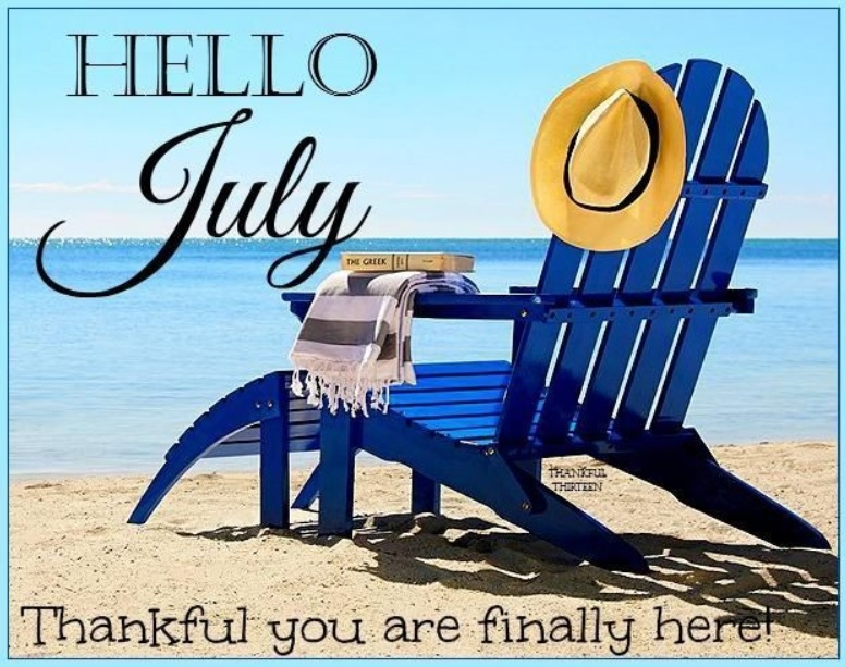 Free Hello July Quotes Pictures