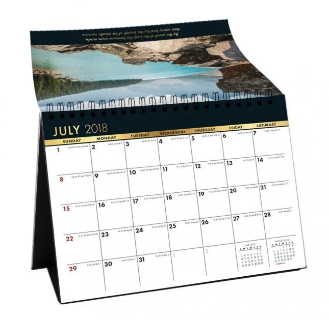 Free July 2018 Calendar For Office Desk