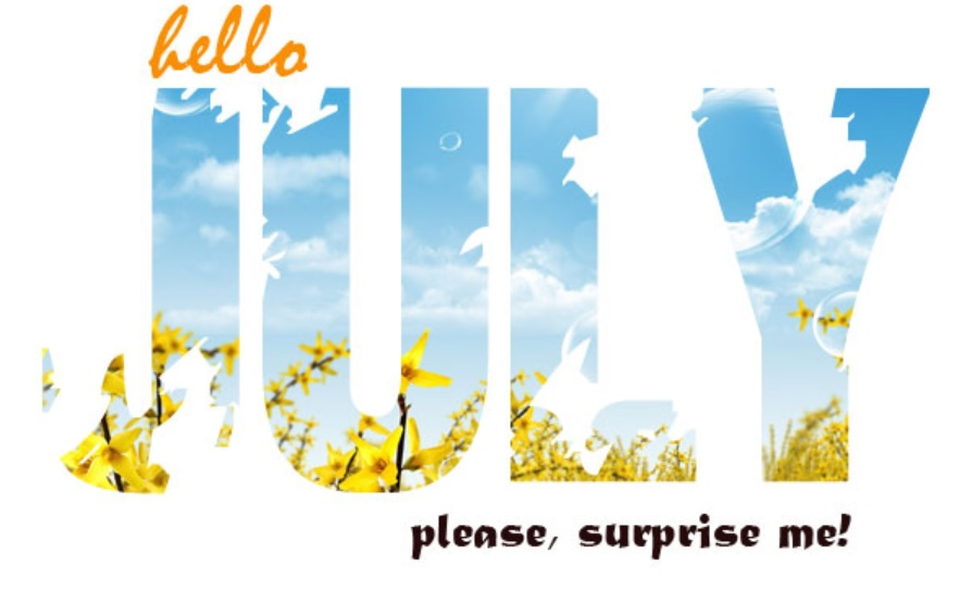 Hello July Quotes HD Pictures
