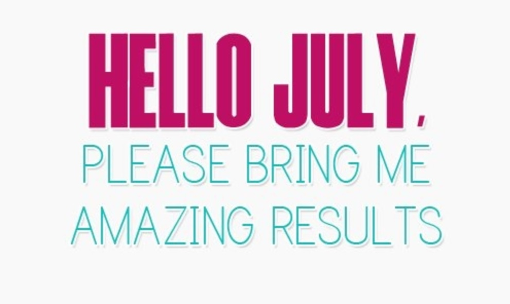 Hello July Quotes Wallpaper