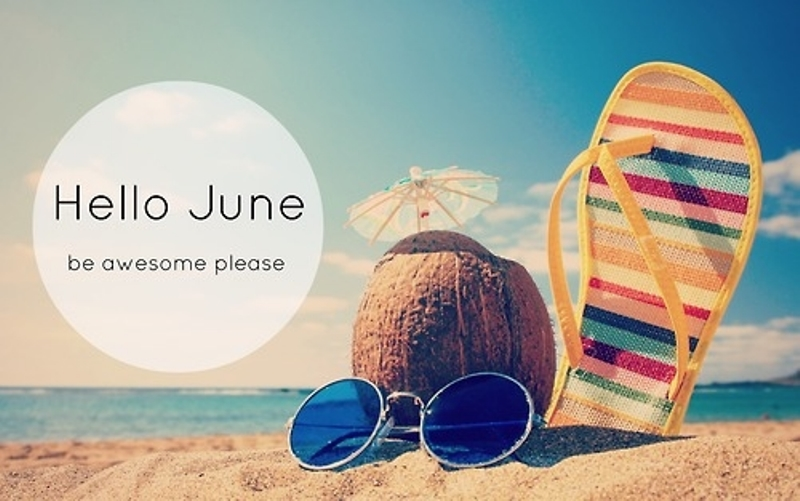 Hello June Be Awesome