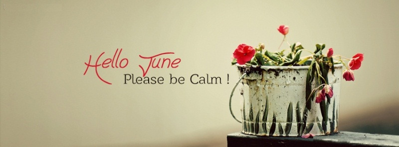 Hello June Please Be Calm