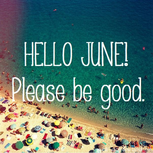 Hello June Please Good To Me