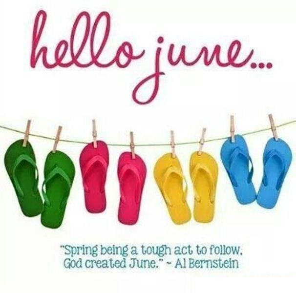 Hello June Quotes For WhatsApp