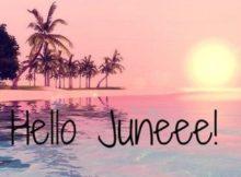 Hello June Wallpaper Hd