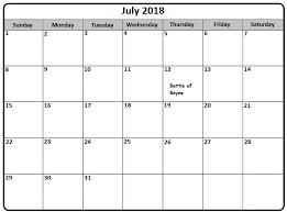 July 2018 France Calendar Template