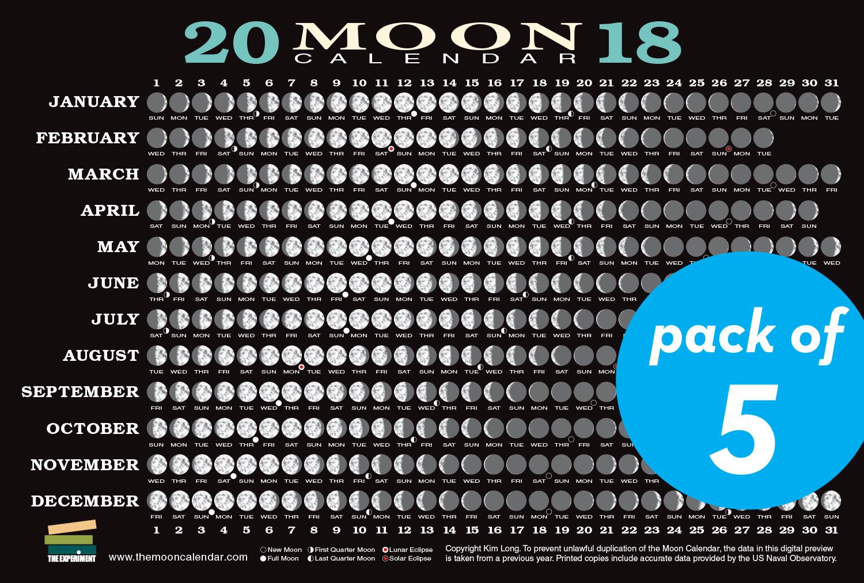 June 2018 Lunar Calendar