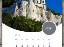 Printable July 2018 Wall Calendar For Home