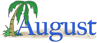 August Clipart Png