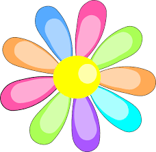 August Flower Clipart