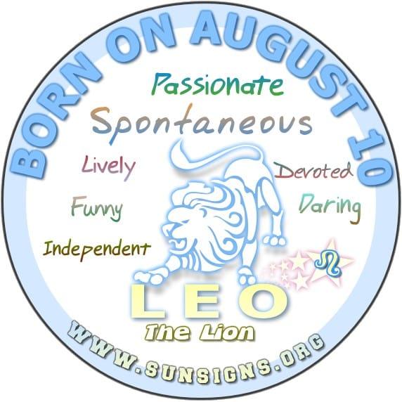 August Zodiac Sign