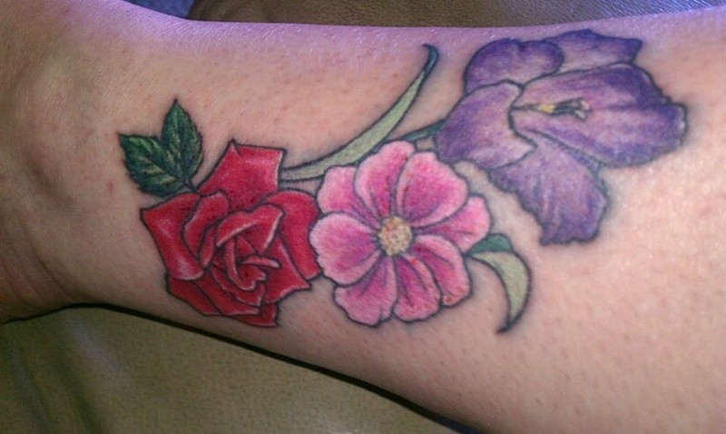 Birth Flower For August Tattoos