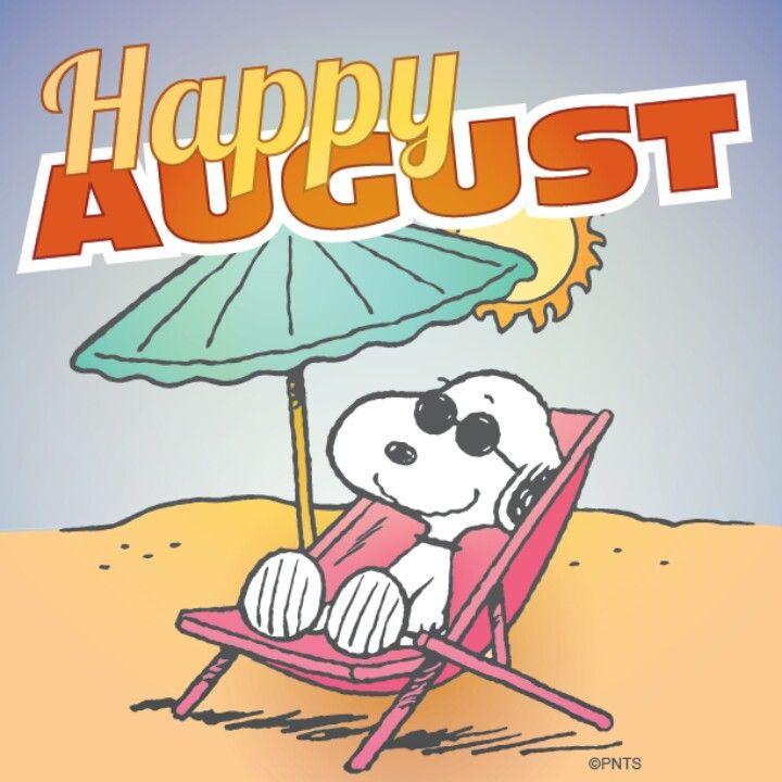 Happy August Cartoon Images