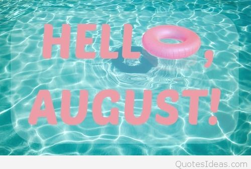 Hello August Beach Images