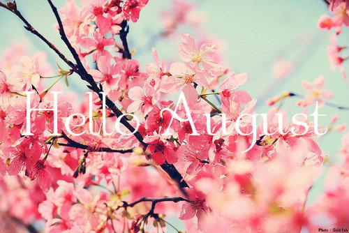 Hello August Flower Photos