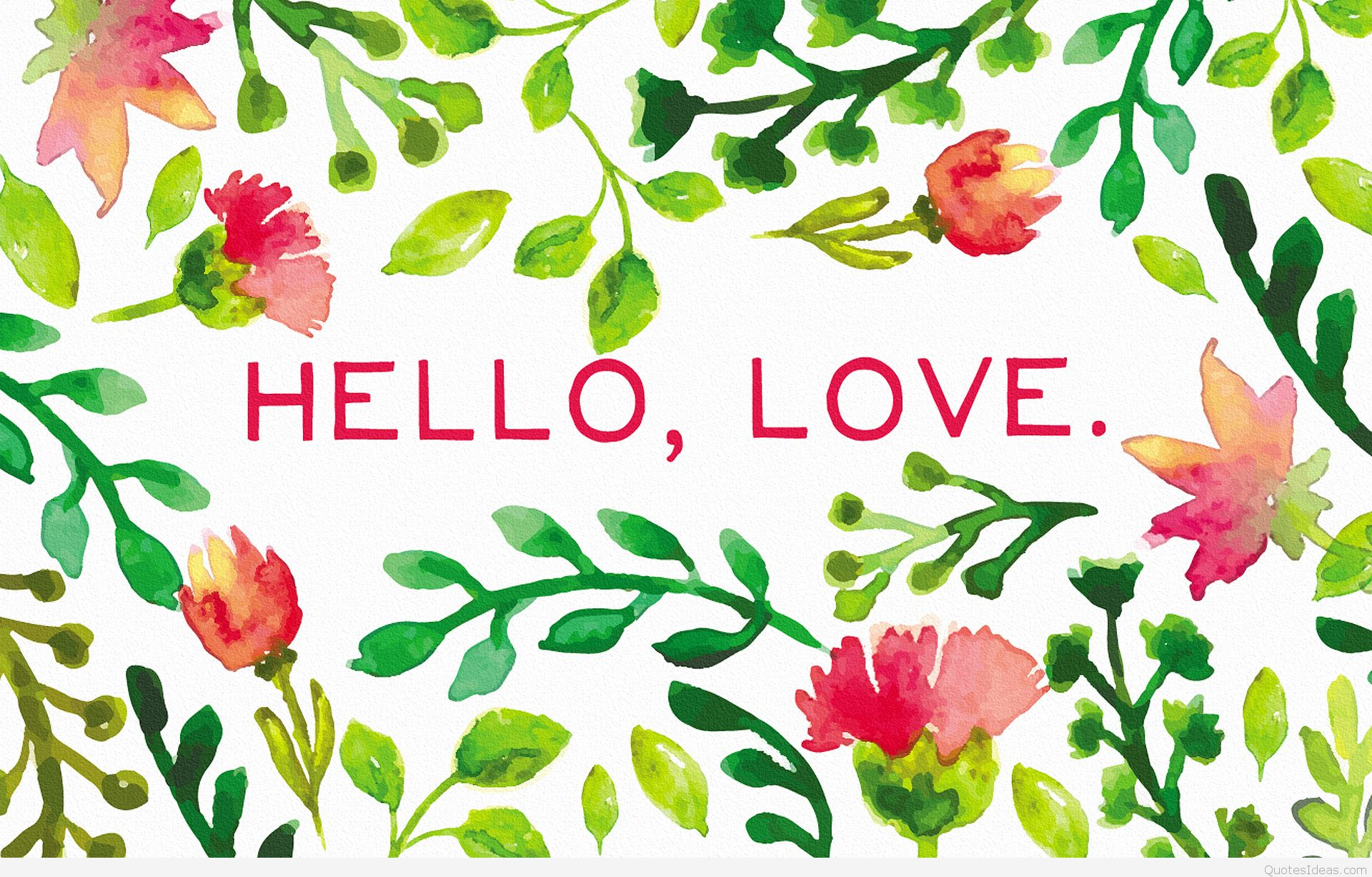 Hello August Love Quotes
