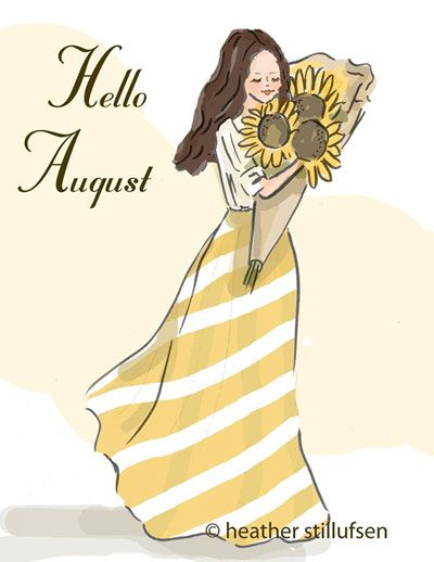 Hello August Quotes Wishes