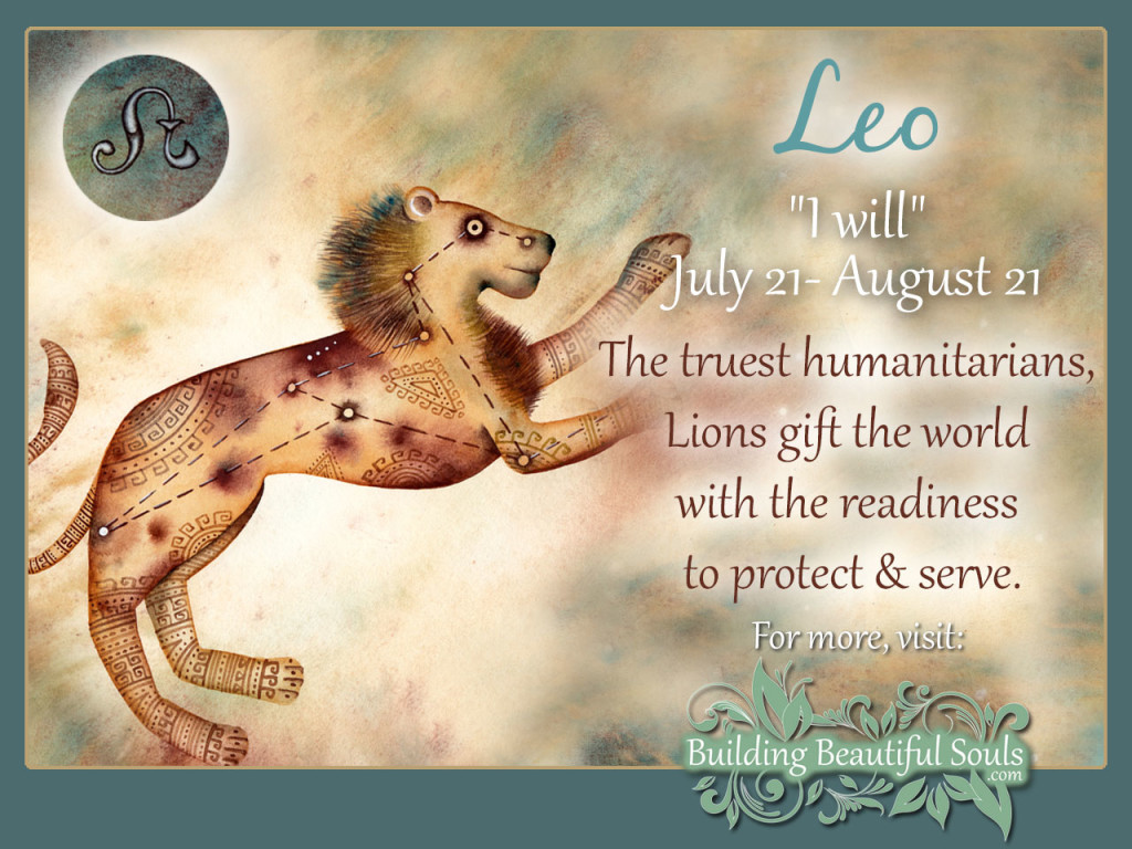 Leo Zodiac Star Sign Traits Personality Description
