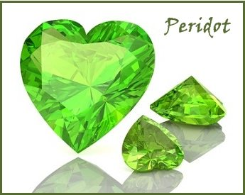 Peridot Gemstone August Birthstone